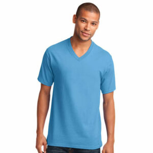 PC54V-Port&Company-v-neck-tee